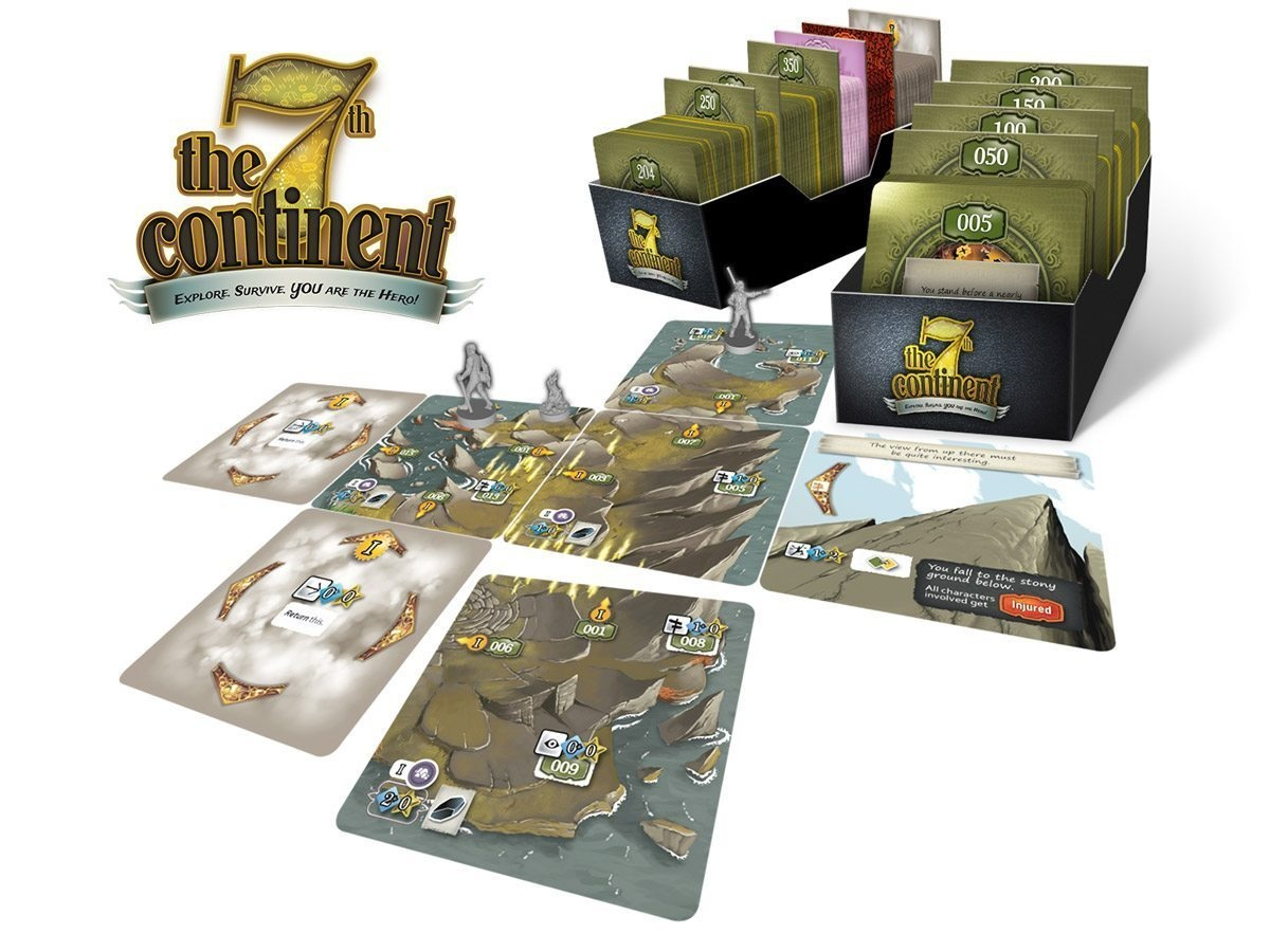 Serious Poulp 7TH CONTINENT: EVERYTHING