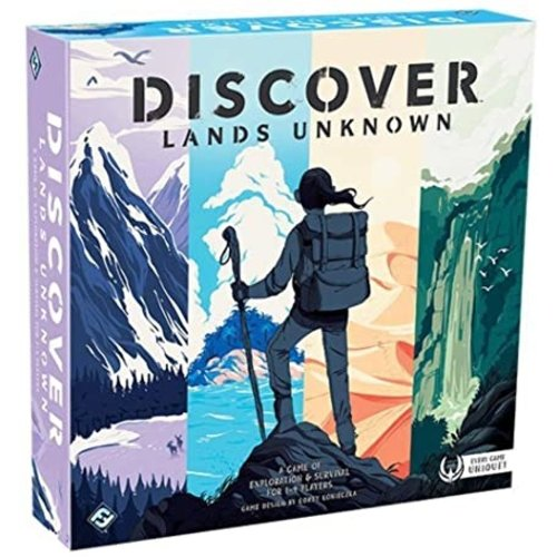 Fantasy Flight Games DISCOVER LANDS UNKNOWN