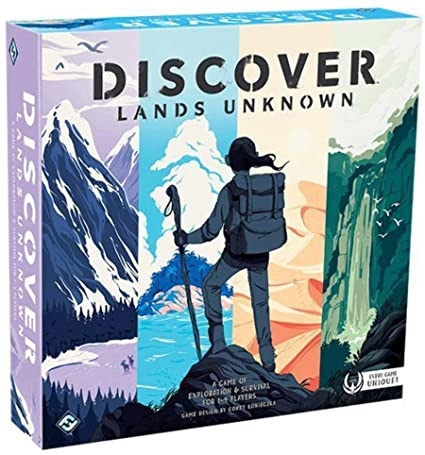 Fantasy Flight Games DISCOVER LANDS UNKNOWN
