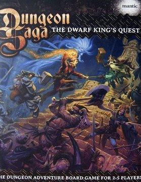 Mantic Entertainment LTD. DUNGEON SAGA: DWARF KINGS QUES
