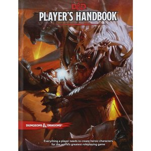 Wizards of the Coast D&D 5E: PLAYER'S HANDBOOK