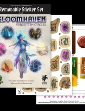 Sinister Fish GLOOMHAVEN: REMOVABLE STICKER SET: FORGOTTEN CIRCLES