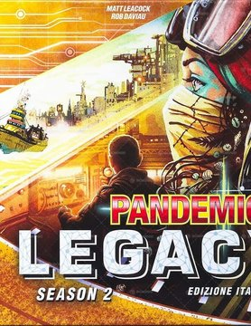 Z-Man Games PANDEMIC: LEGACY: SEASON 2 - YELLOW EDITION