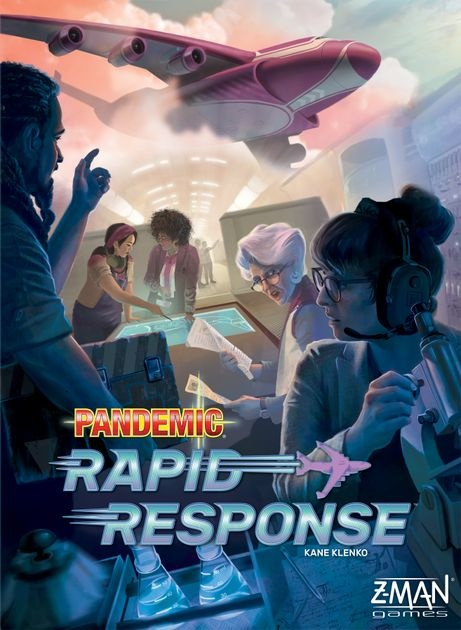 Z-Man Games PANDEMIC RAPID RESPONSE