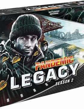 Z-Man Games PANDEMIC: LEGACY: SEASON 2 - BLACK EDITION