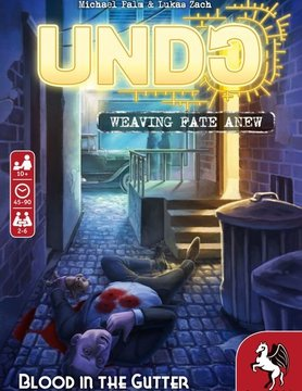 Pegasus Spiele UNDO: BLOOD IN THE GUTTER