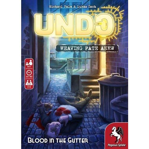 Pegasus Spiele UNDO: BLOOD IN THE GUTTER