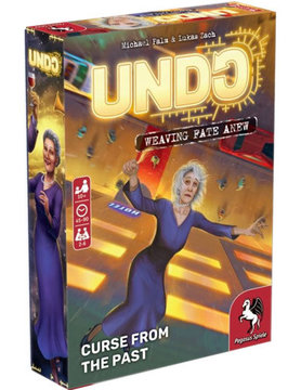 Pegasus Spiele UNDO: CURSE FROM THE PAST