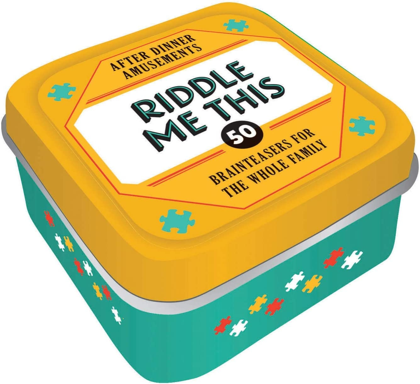 HACHETTE/CHRONICLE/MUDPUPPY AFTER DINNER: RIDDLE ME THIS