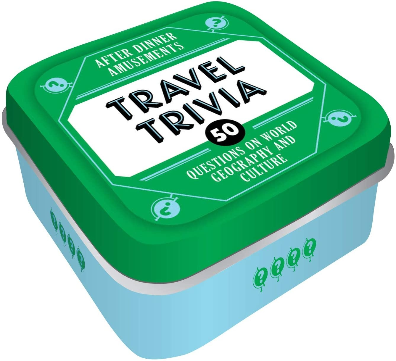 HACHETTE/CHRONICLE/MUDPUPPY AFTER DINNER: TRAVEL TRIVIA
