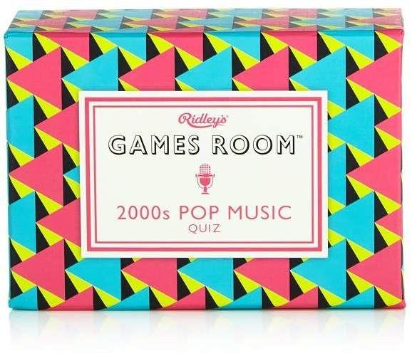 WILD & WOLF RIDLEY'S GAMES ROOM: 2000S POP MUSIC QUIZ