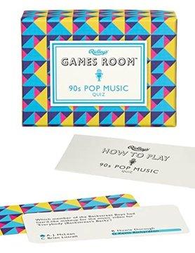 WILD & WOLF RIDLEY'S GAMES ROOM: 90s POP MUSIC QUIZ