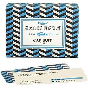 WILD & WOLF RIDLEY'S GAMES ROOM: CAR BUFF QUIZ