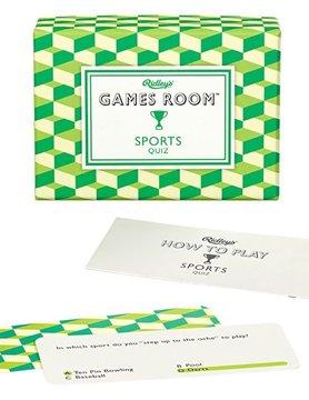 WILD & WOLF RIDLEY'S GAMES ROOM: SPORTS QUIZ