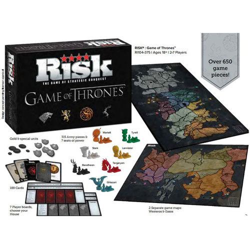 USA OPOLY RISK GAME OF THRONES