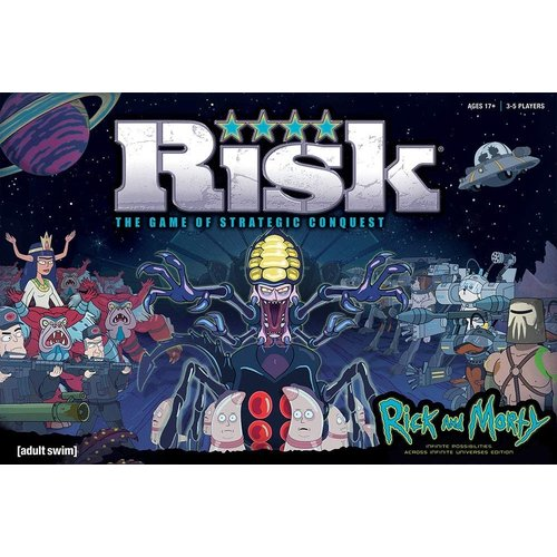 USAopoly RISK: RICK AND MORTY