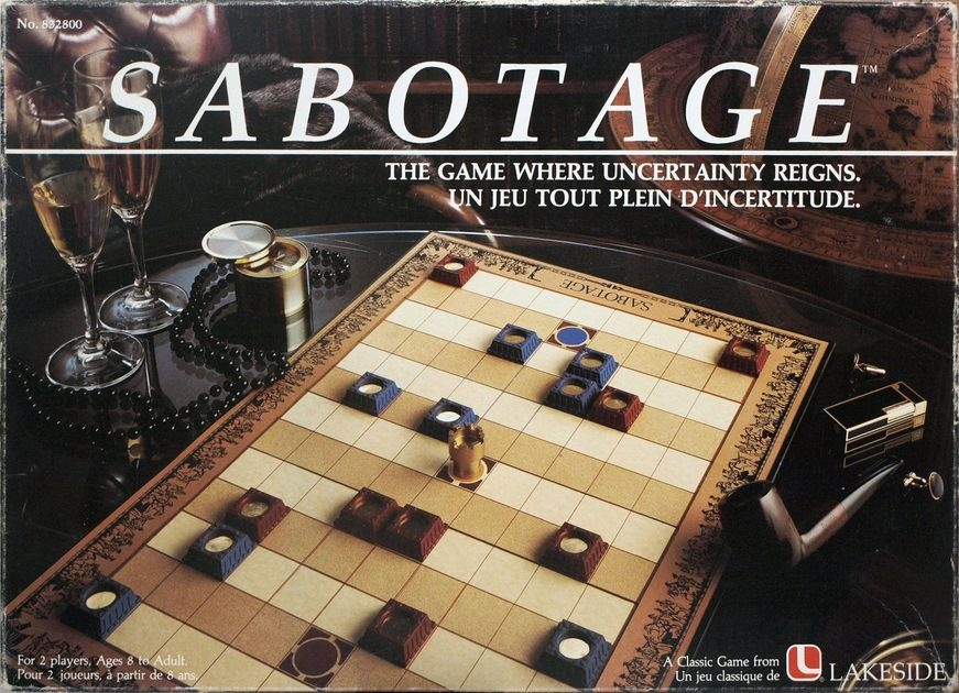 FOWERS GAMES SABOTAGE