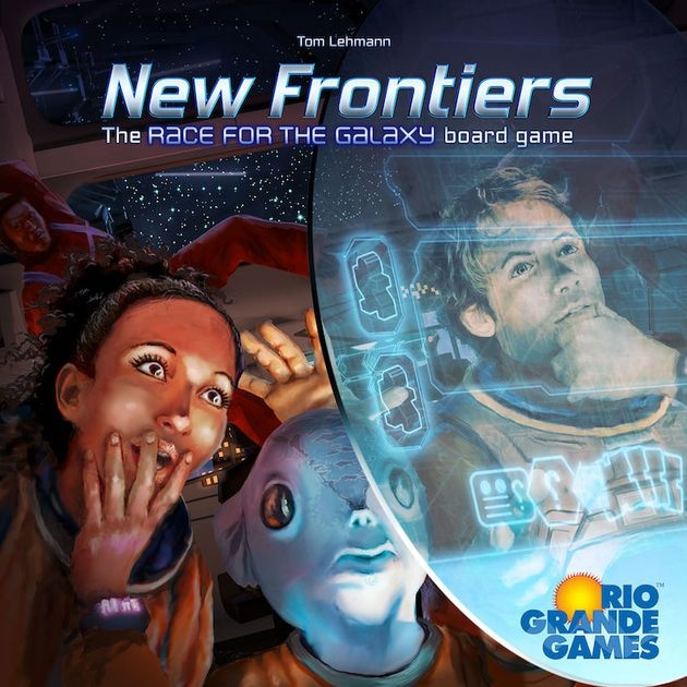 Rio Grande Games NEW FRONTIERS
