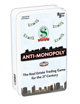 UNIVERSITY GAMES ANTI-MONOPOLY TRAVEL