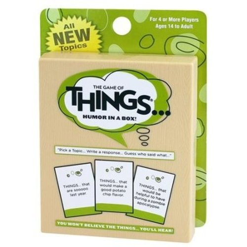 PLAYMONSTER (PATCH PRODUCTS) GAME OF THINGS CARD GAME