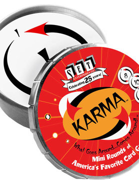 ZZSET ENTERPRISES KARMA MINI ROUND TIN