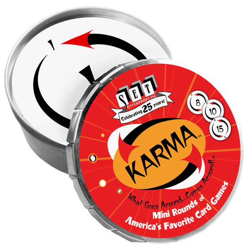 Set Enterprises KARMA MINI ROUND TIN
