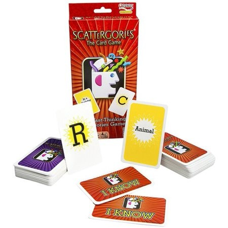 WINNING MOVES SCATTERGORIES THE CARD GAME