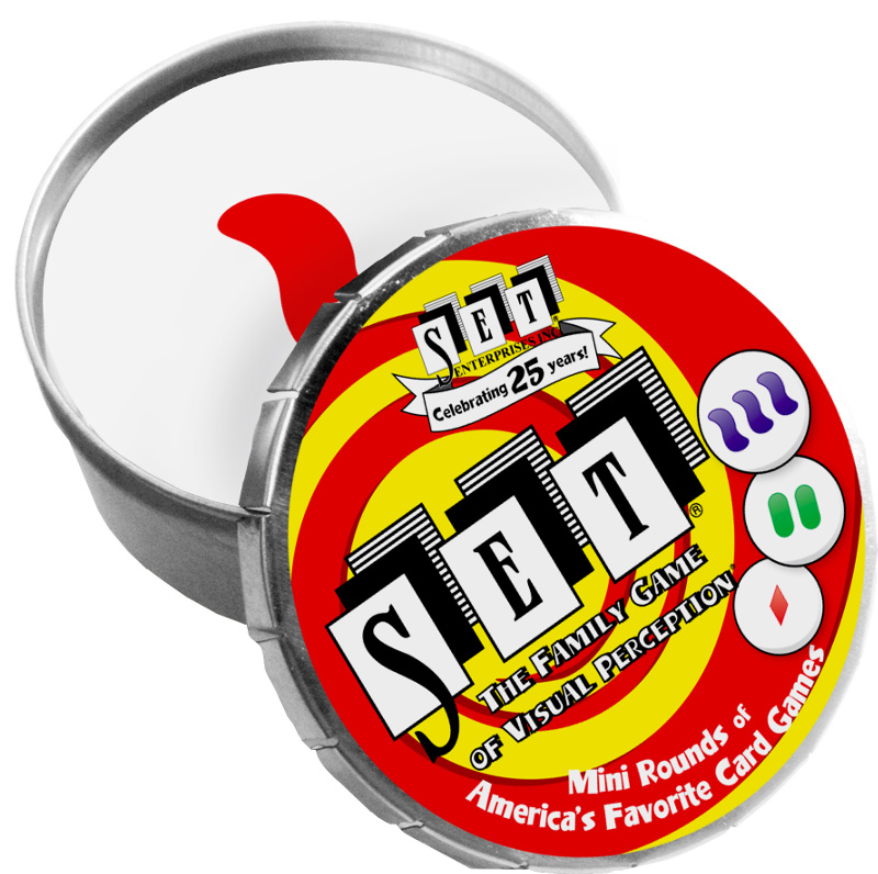 PLAYMONSTER (PATCH PRODUCTS) SET MINI ROUND TIN