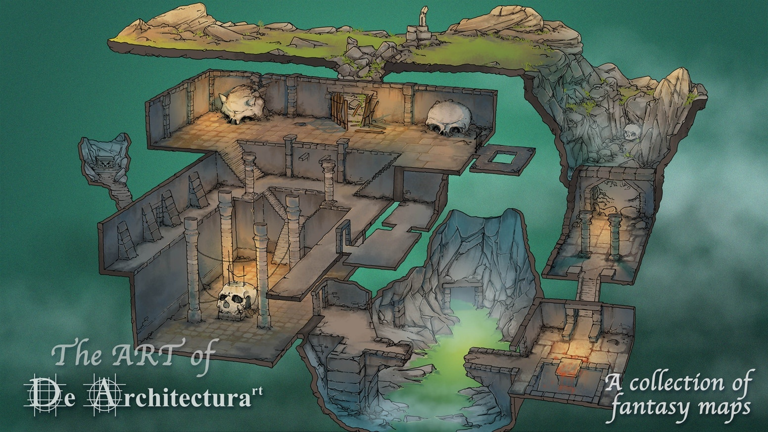 De Architecturart A COLLECTION OF FANTASY MAP