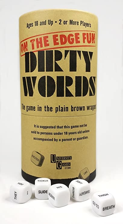 UNIVERSITY GAMES DIRTY WORDS