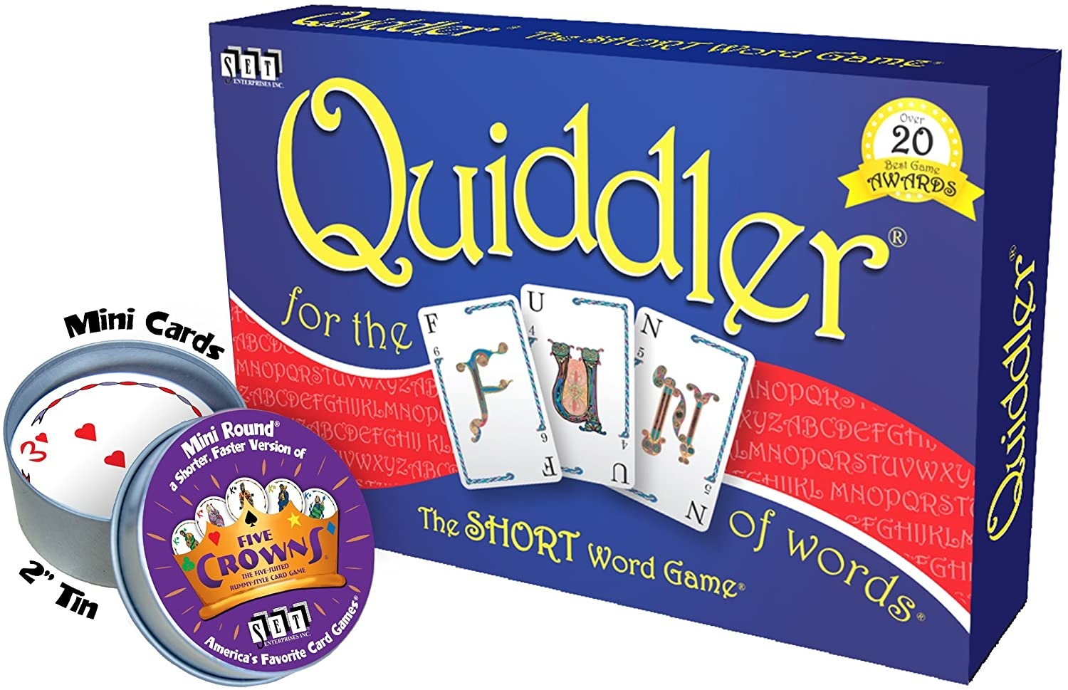 PLAYMONSTER (PATCH PRODUCTS) QUIDDLER