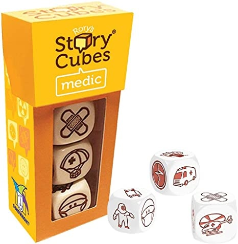 CEACO (GAMEWRIGHT/BRAINWRIGHT) RORY'S STORY CUBES MEDIC