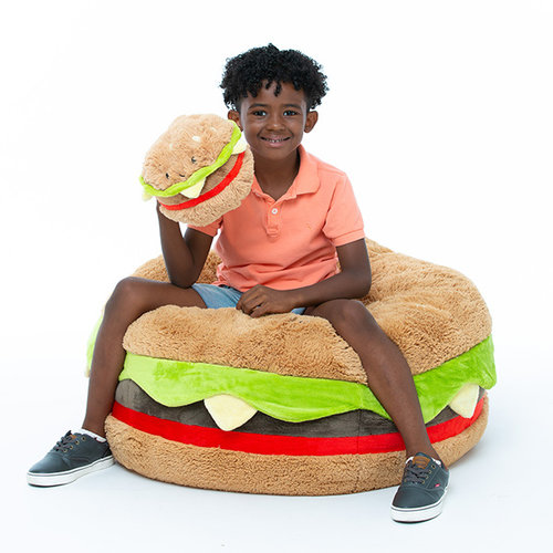SQUISHABLE Massive Hamburger