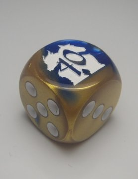 Chessex Pre-Order: 40TH ANNIVERSARY D6 - Available Now!