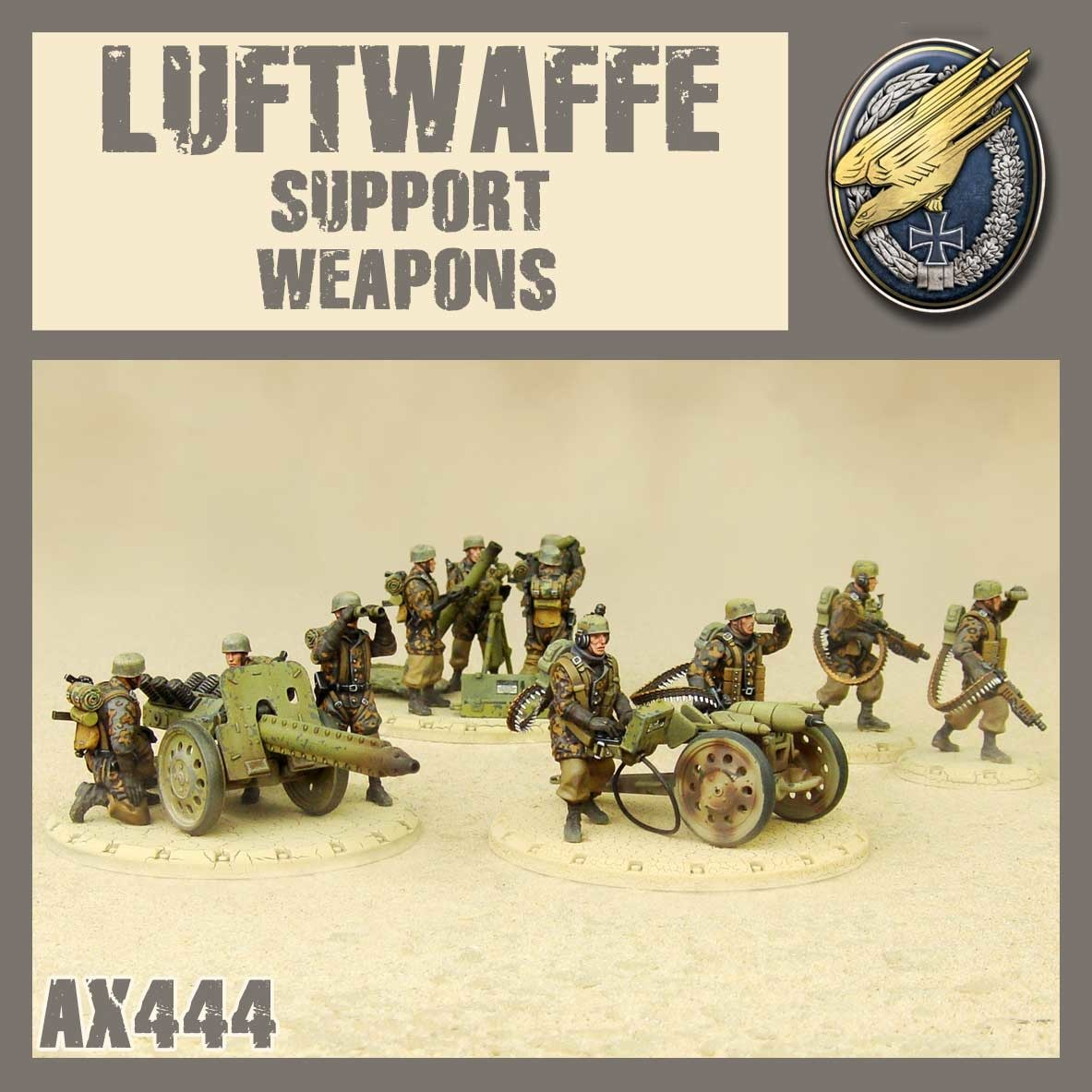 DUST USA DUST DROP-SHIP: Luftwaffe Support Weapons