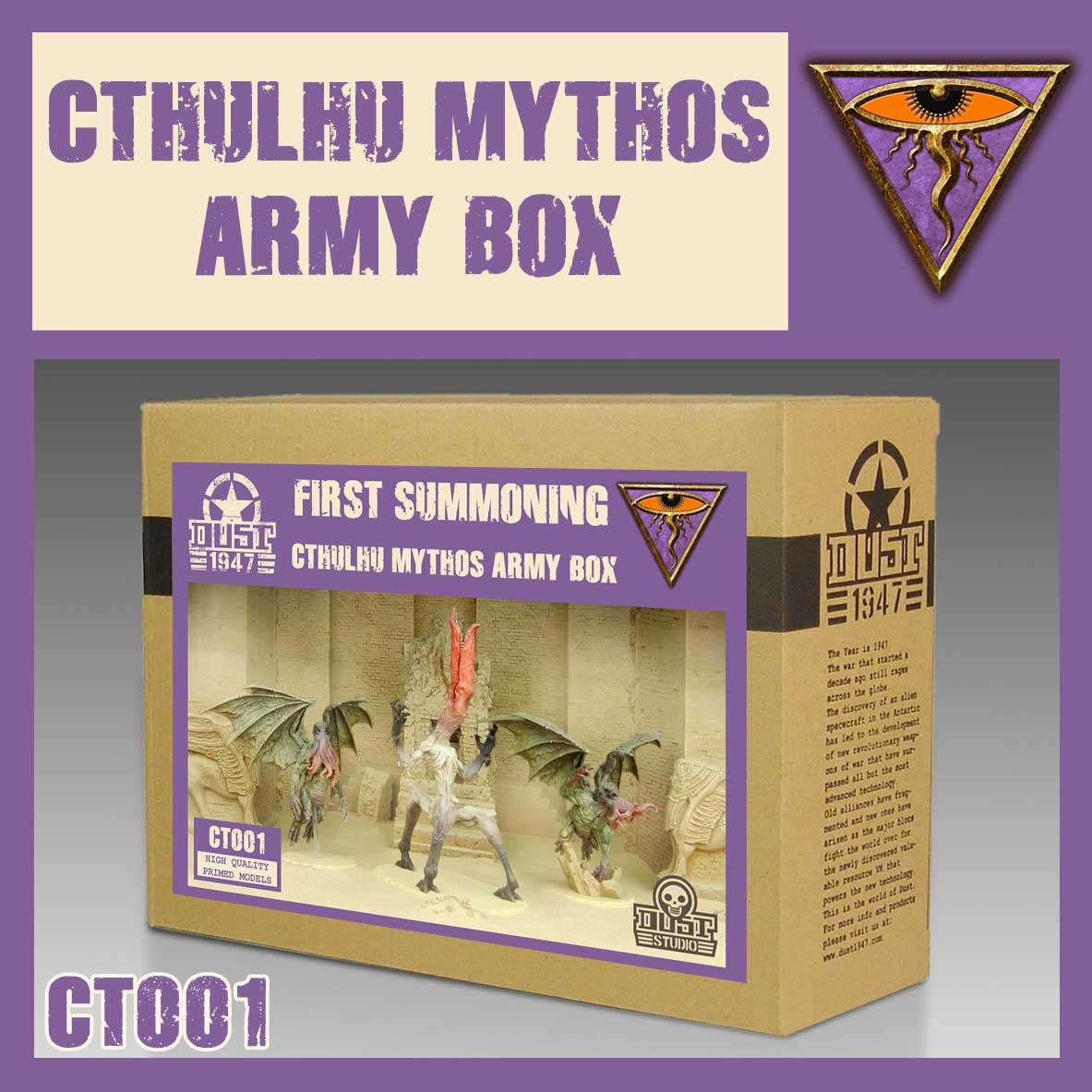 DUST USA DUST DROP-SHIP: Nyarlathotep First Summoning Army Box