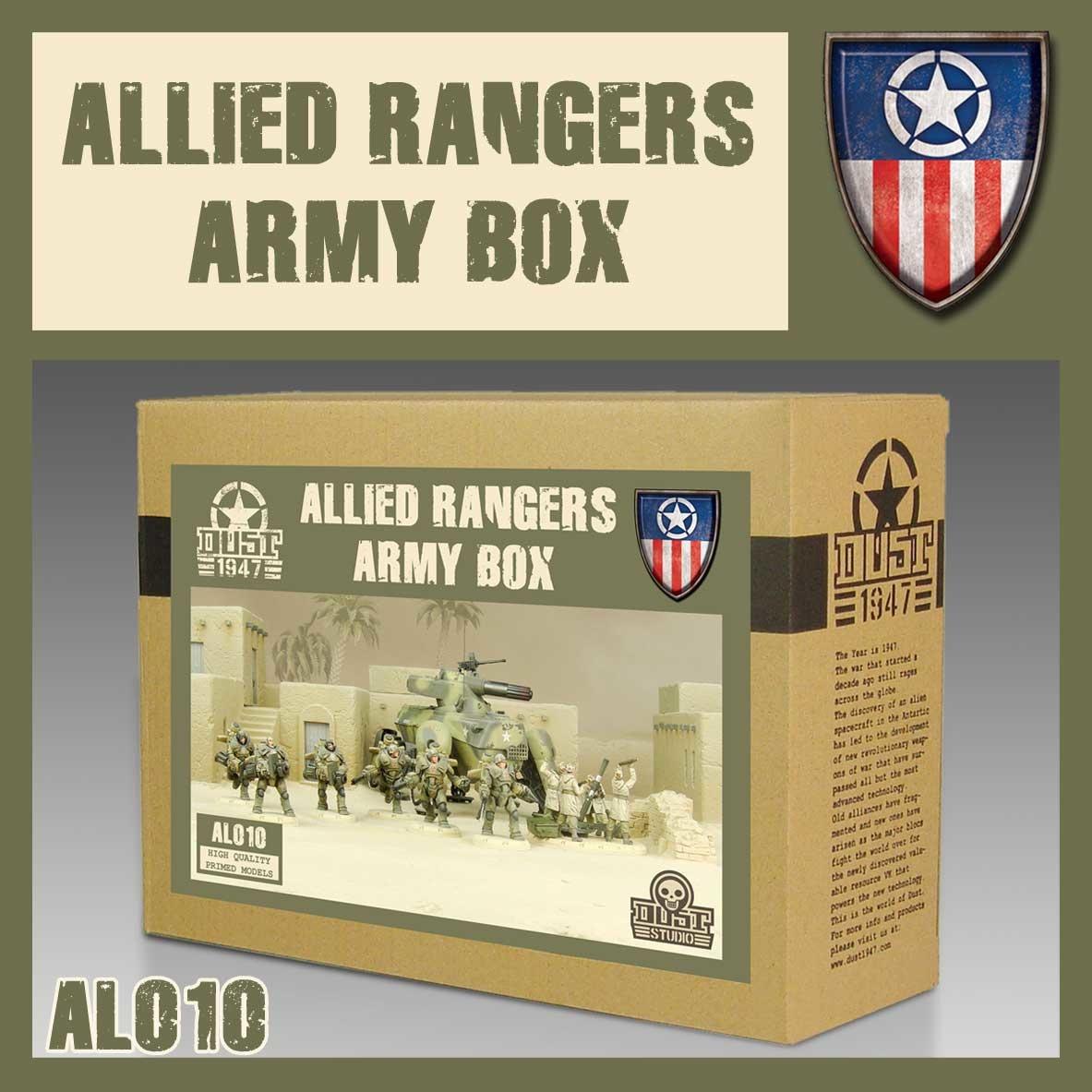 DUST USA DUST DROP-SHIP: Heavy ranger Army Box