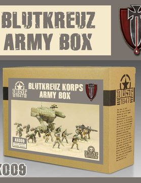 DUST USA DUST DROP-SHIP: Blutkreuz Army Box