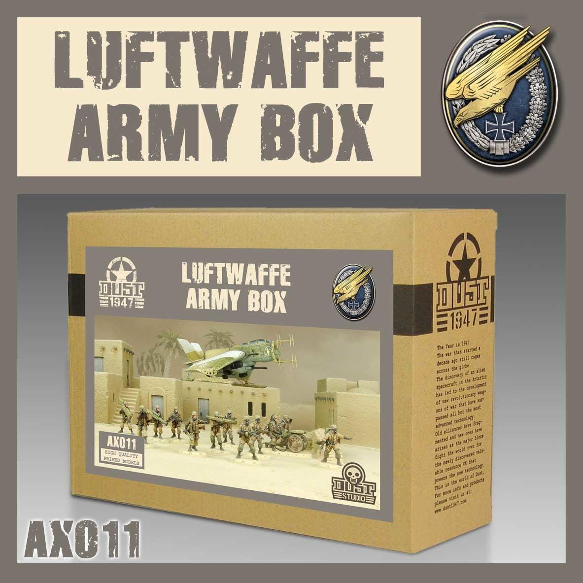 DUST USA DUST DROP-SHIP: Luftwaffe Army Box
