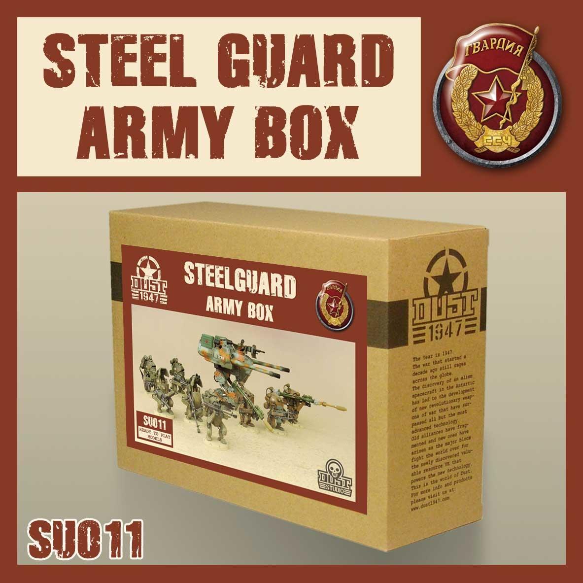 DUST USA DUST DROP-SHIP: SSU Steel Guard Army Box *May 2020 Release