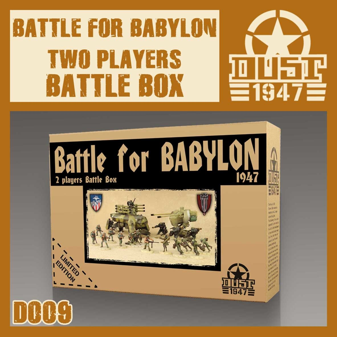 DUST USA DUST DROP-SHIP: Battle for Babylon 2-Player Battle Box