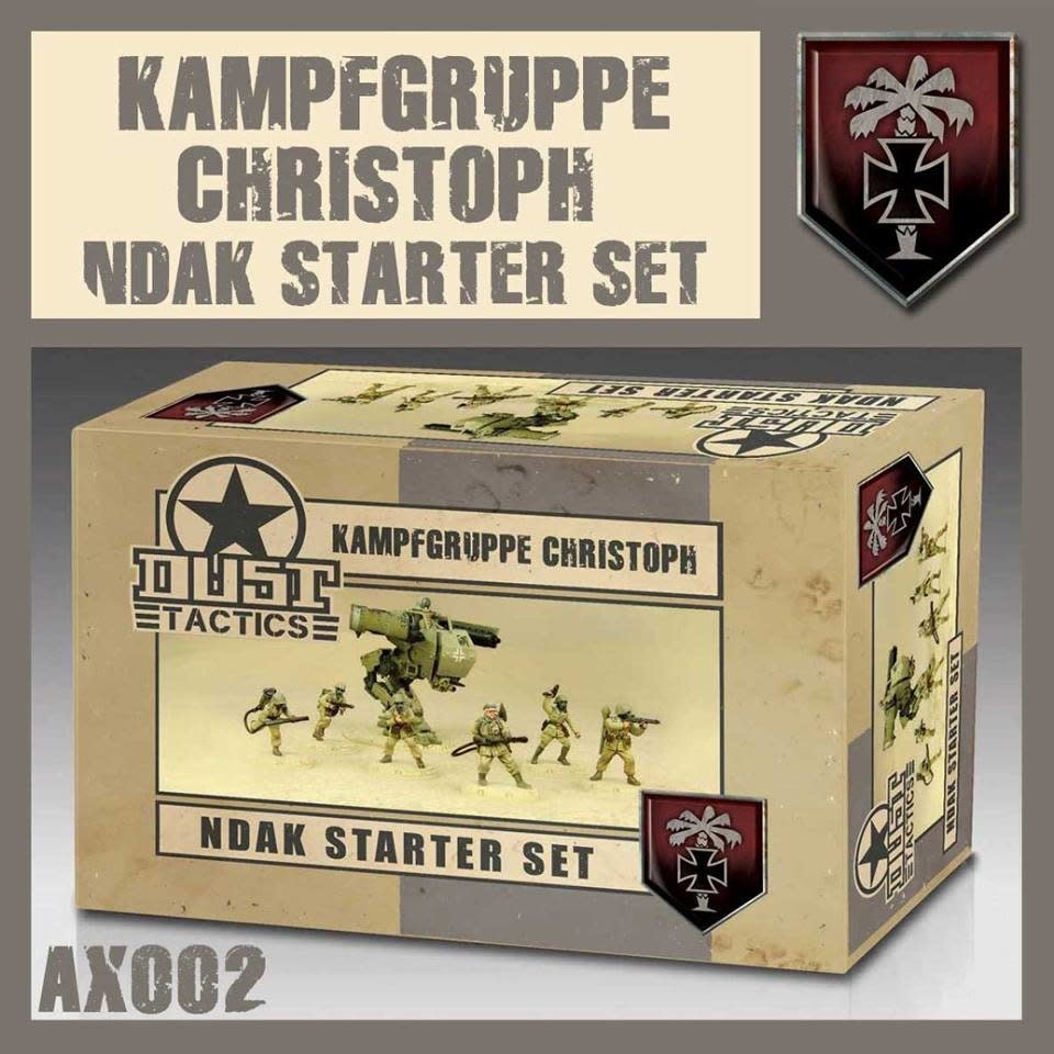 DUST USA DUST DROP-SHIP: NDAK Starter Set - Kampfgruppe Christoph