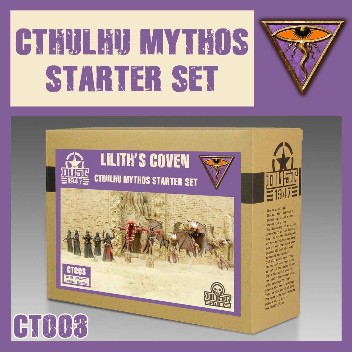 DUST USA DUST DROP-SHIP: Mythos Starter Set - Liliths Coven