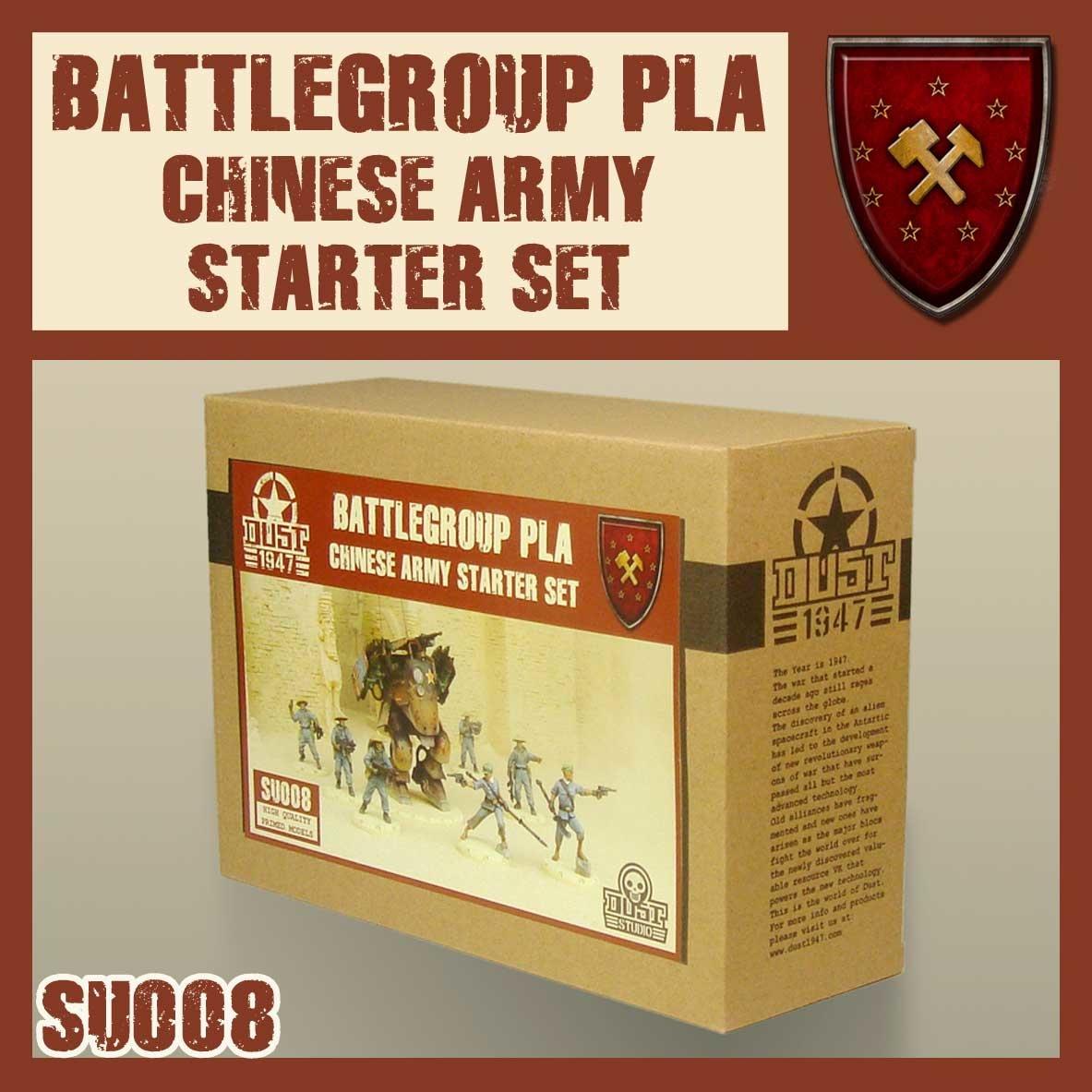 DUST USA DUST DROP-SHIP: Chinese Army Starter Set - Battlegroup PLA