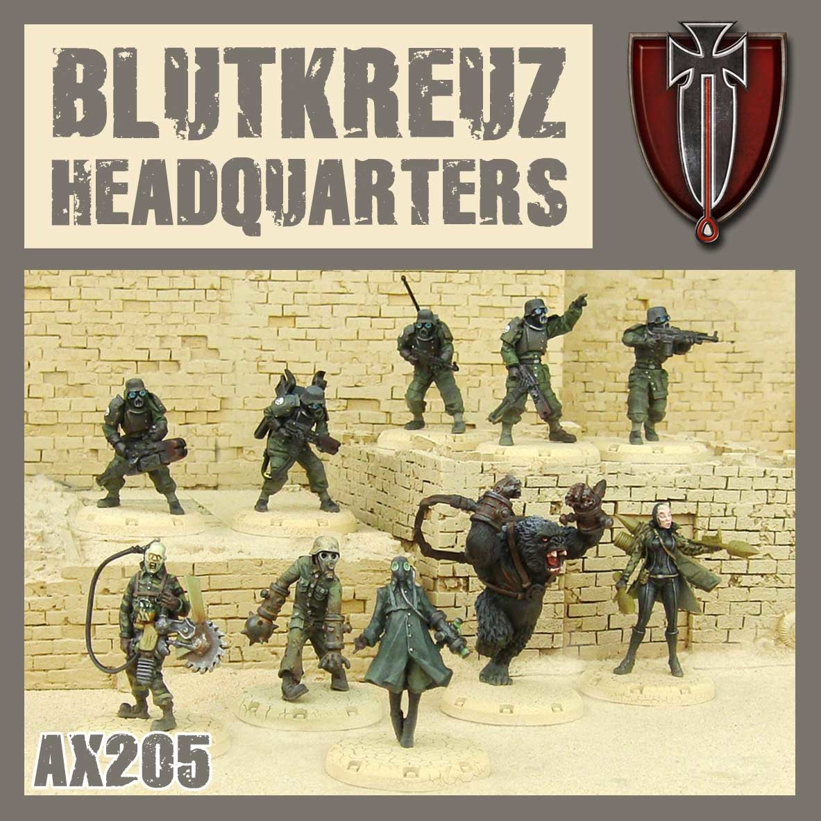 DUST USA DUST DROP-SHIP: Blutkreuz Headquarters