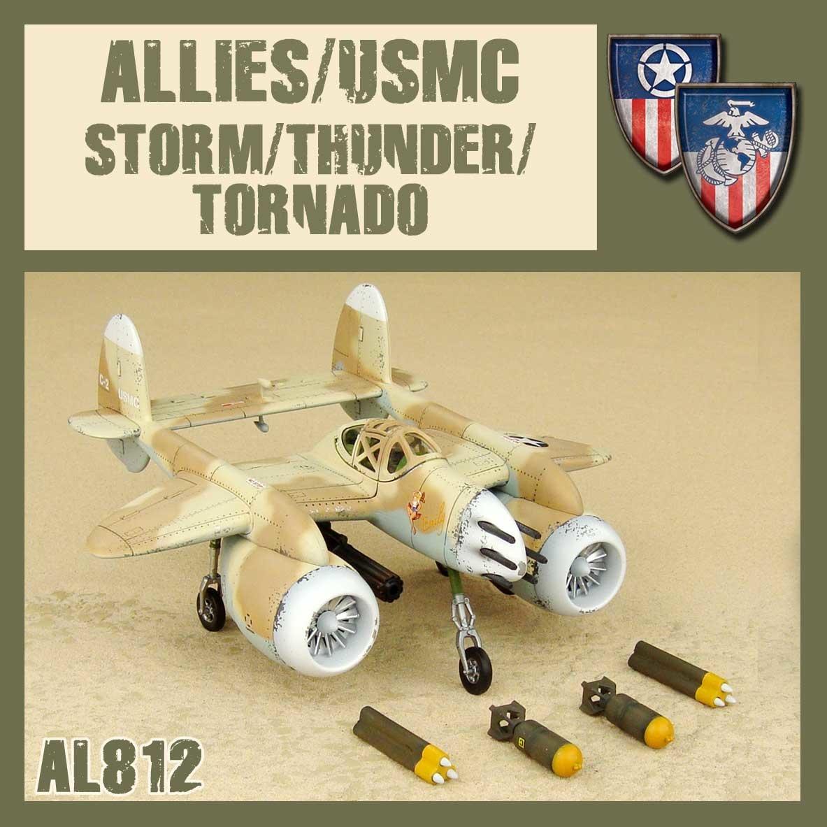 DUST USA DUST DROP-SHIP: Allies/USMC Storm/Thunder/Tornado *May 2020 Release