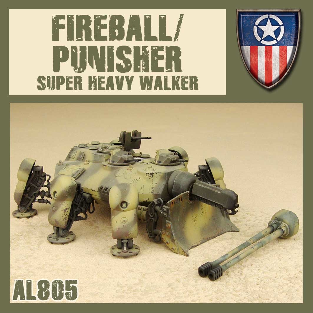 DUST USA DUST DROP-SHIP: Fireball/Punisher