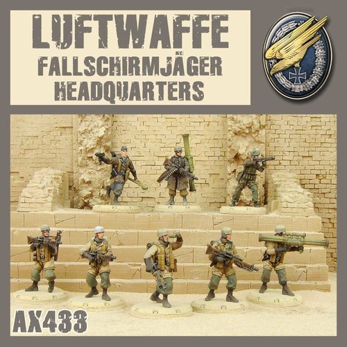 DUST USA DUST DROP-SHIP: Fallschirmjäger HQ