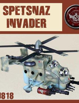 DUST USA DUST DROP-SHIP: SSU Spetsnaz Assault Helicopter - Invader