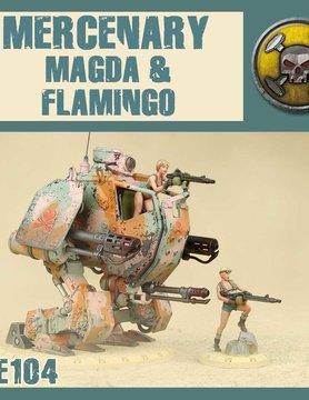 DUST USA DUST DROP-SHIP: Magda and Flamingo